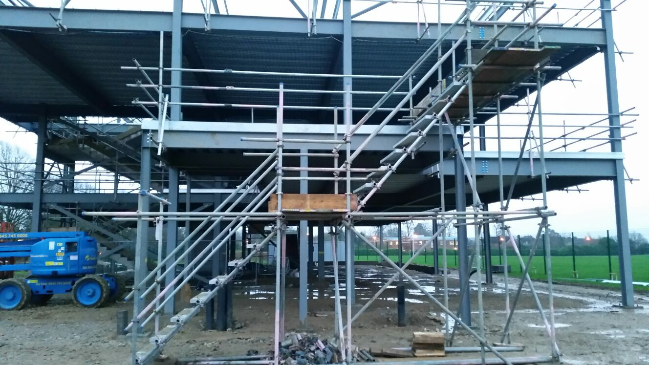 How High We Can Build A Scaffold Tower